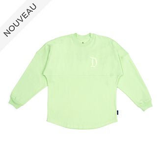 Disneyland Resort Sweatshirt Spirit Jersey vert menthe pour adultes