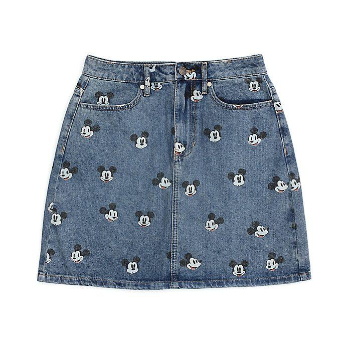 Disney Store Jupe en jean Mickey pour adultes