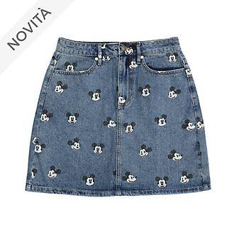 Gonna in jeans adulti Topolino Disney Store