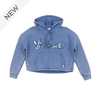 Disney Store Stitch Ladies' Hooded Sweatshirt
