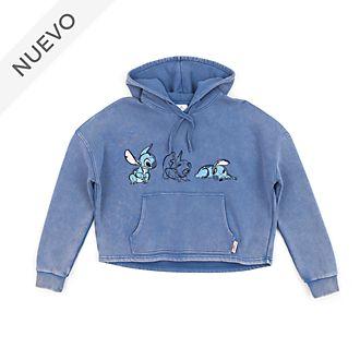 Sudadera con capucha para mujer Stitch, Disney Store