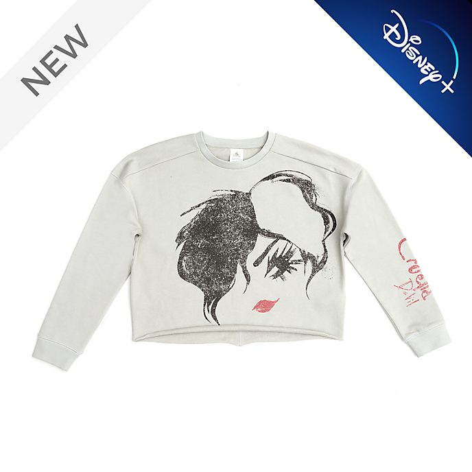 Disney Store Cruella Ladies' Sweatshirt