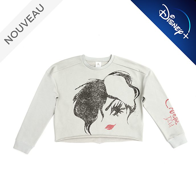 Disney Store Sweatshirt Cruella pour femmes