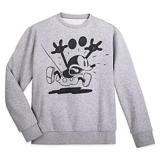 Disney Store - Micky Maus - Sweatshirt für Erwachsene aus der Greyscale Kollektion