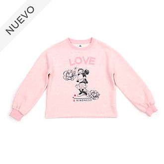 Sudadera Positively Minnie para adultos, Disney Store