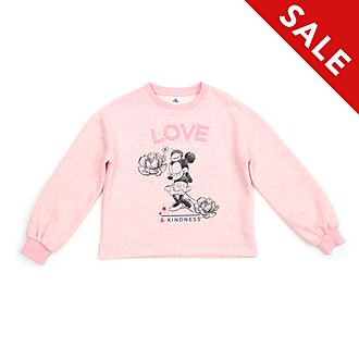 Disney Store Positively Minnie Sweatshirt For Adults