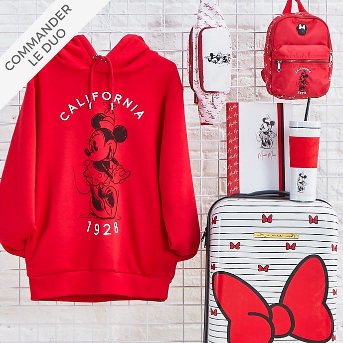 Disney Store Collection Minnie rouge et blanc pour adultes