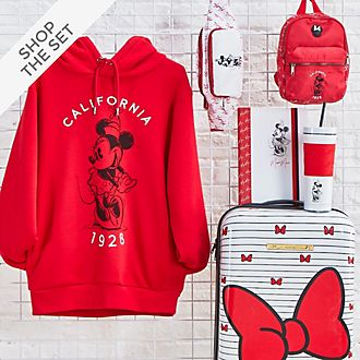 Disney Store Minnie Mouse Red and White Collection For Adults