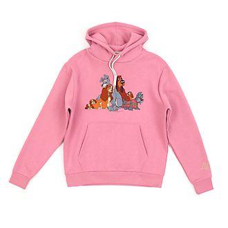 Disney Store Sweat à capuche La Belle et le Clochard pour adultes
