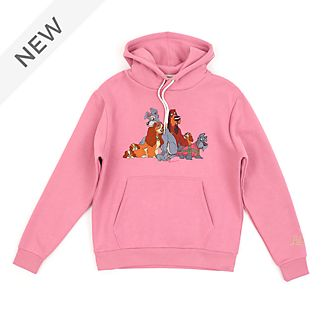 Disney Store Lady and the Tramp Hooded Sweatshirt For Adults