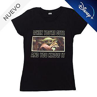Camiseta El Niño para mujer, Star Wars: The Mandalorian