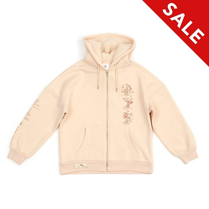 Disney Store Minnie Mouse Sketch Ladies' Hooded Sweatshirt
