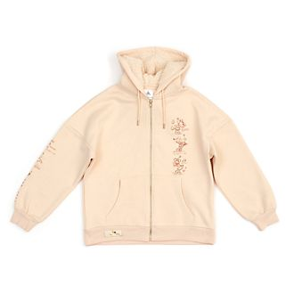 Disney Store Minnie Mouse Sketch Ladies' Hooded Sweatshirt