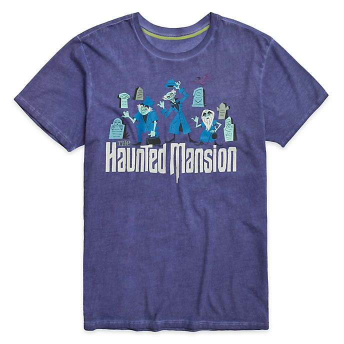 Disney Store Hitchhiking Ghosts T-Shirt For Adults, The Haunted Mansion