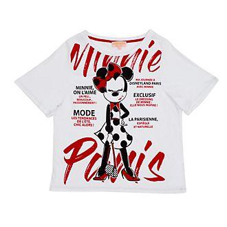 Maglietta donna Minnie Parisienne Minni Disneyland Paris