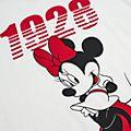 Disney Store - Minnie Maus - Loungeware-T-Shirt für Damen