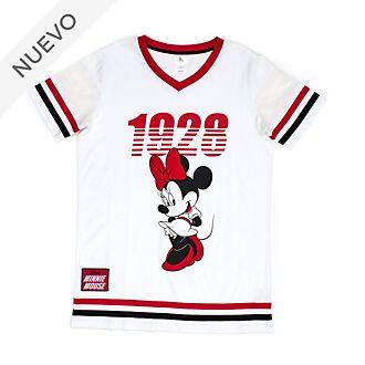 Camiseta de pijama Minnie Mouse para mujer, Disney Store