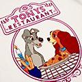 Disney Store T-shirt d'intérieur La Belle et le Clochard pour femmes