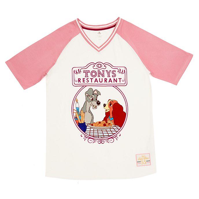 Maglietta pigiama donna Lilli e il Vagabondo Disney Store