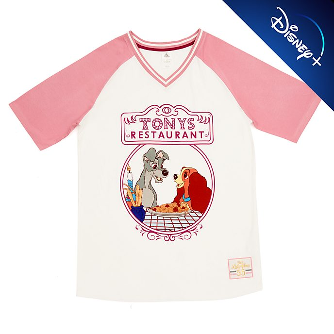 Disney Store T-shirt La Belle et le Clochard