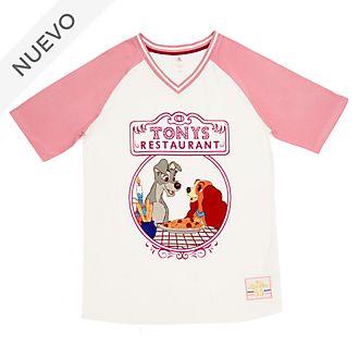 Camiseta pijama La Dama y el Vagabundo para mujer, Disney Store