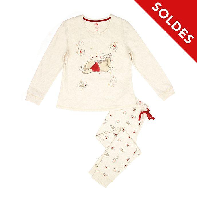 Disney Store Pyjama Winnie l'Ourson en coton biologique pour femmes