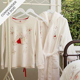 Disney Store Collection de vêtements de nuit Winnie l'Ourson pour adultes