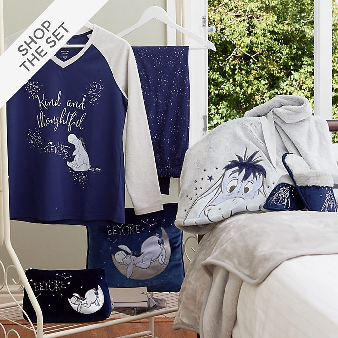 Disney Store Eeyore Sleepwear Collection For Adults