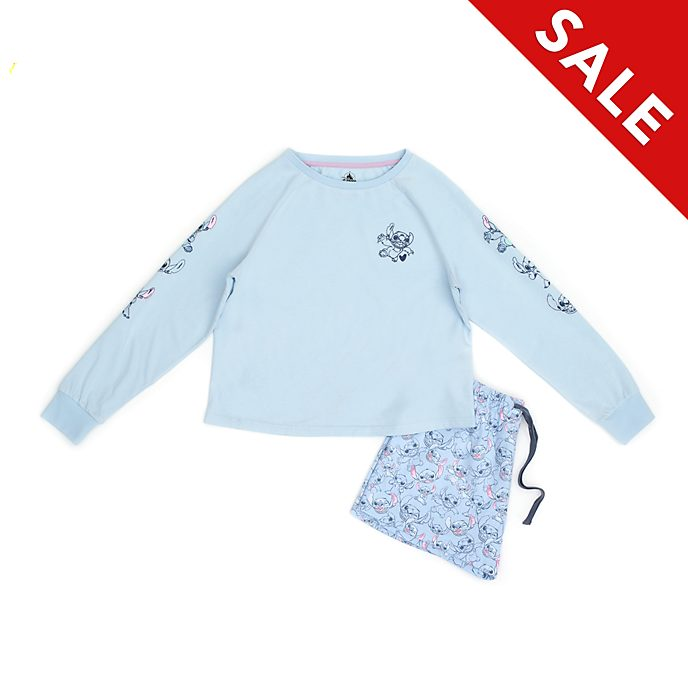 Disney Store Stitch Organic Cotton Ladies' Pyjamas
