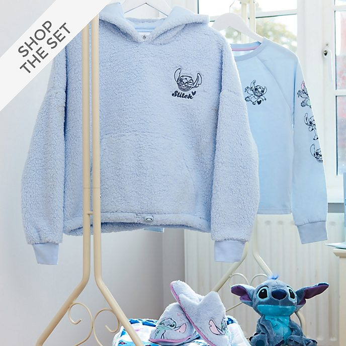 Disney Store Stitch Sleepwear Collection For Adults