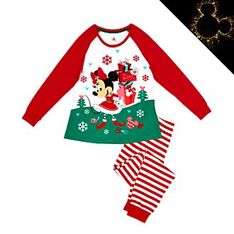 Pigiama donna in cotone bio Minni Holiday Cheer Disney Store