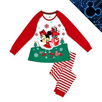 Disney Store - Holiday Cheer - Minnie Maus - Pyjama für Damen aus Bio-Baumwolle