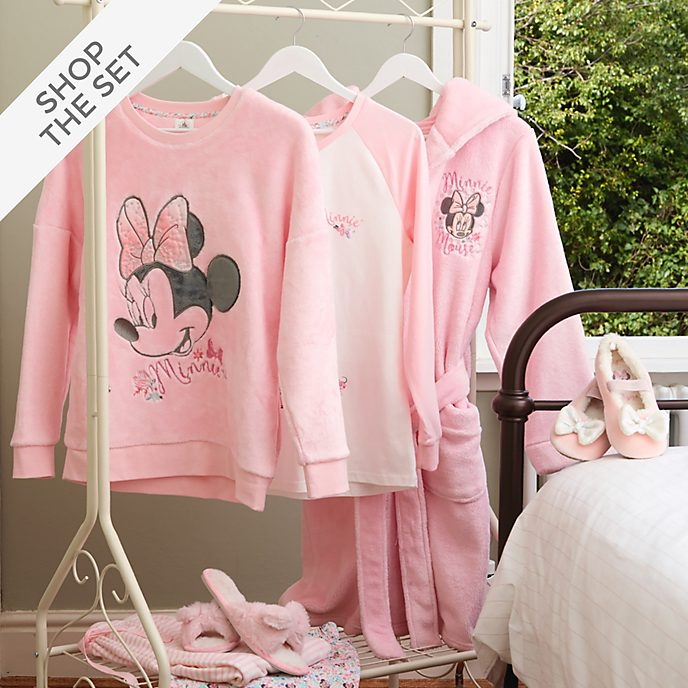 Disney Store Minnie Mouse Sleepwear Collection For Kids and Adults