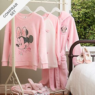 Colección de ropa de dormir Minnie Mouse para niños y adultos, Disney Store