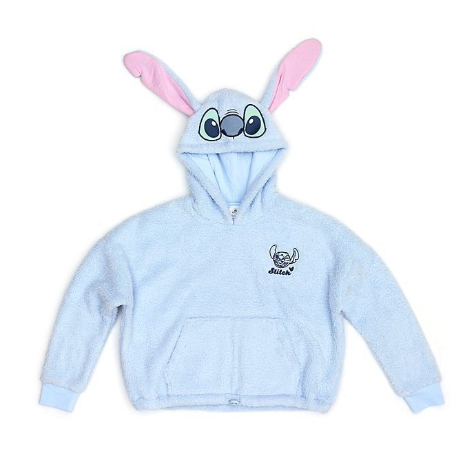 Disney Store Sweat d'intérieur à capuche Stitch pour femmes