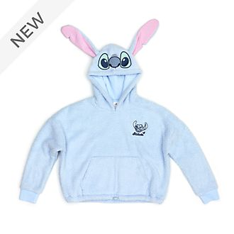 Disney Store Stitch Ladies' Lounge Hooded Sweatshirt