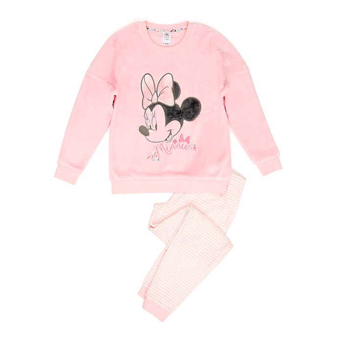Disney Store Minnie Mouse Fluffy Ladies' Pyjamas