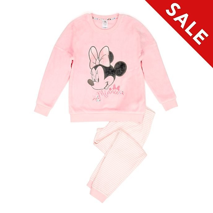 Disney Store Minnie Mouse Fluffy Ladies' Pyjamas