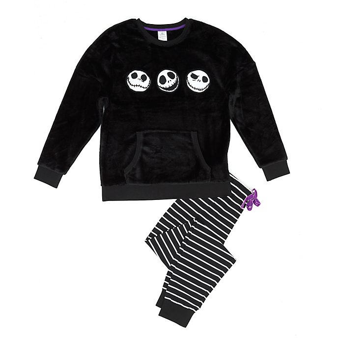 Pijama mullido Pesadilla antes de Navidad para mujer, Disney Store