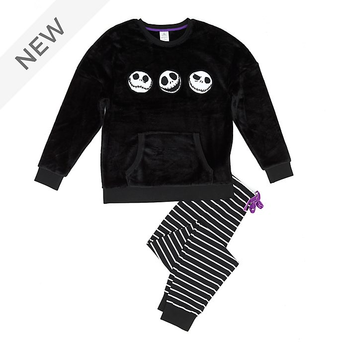 Disney Store The Nightmare Before Christmas Fluffy Ladies' Pyjamas
