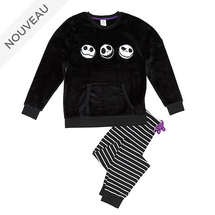 Disney Store Pyjama molletonné L'Étrange Noël de Monsieur Jack pour femmes