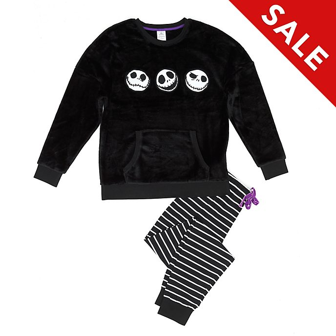 Disney Store The Nightmare Before Christmas Fluffy Ladies' Pyjamas