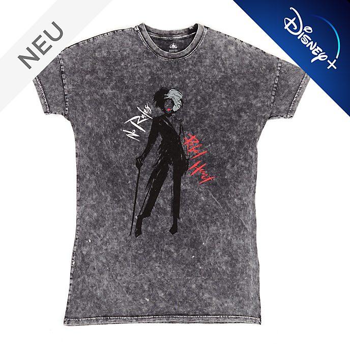 Disney Store - Cruella de Vil - Graues Loungewear-Oberteil für Damen