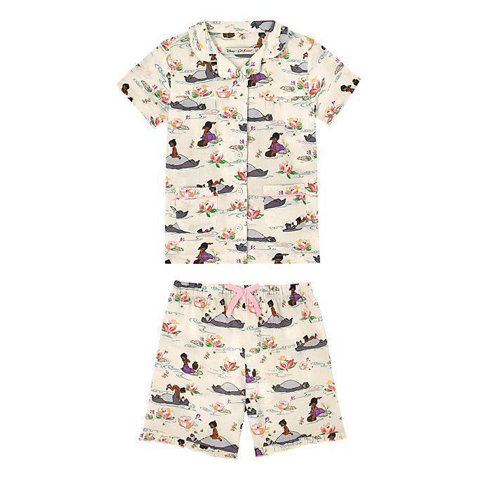 Pijama infantil corto Cath Kidston, El Libro de la Selva
