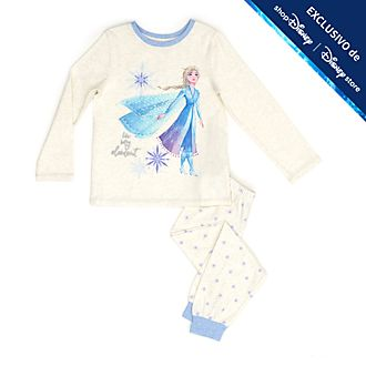 Pijama infantil Elsa, Frozen 2, Disney Store