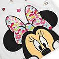 Disney Store - Minnie Maus - Pyjama mit Blumen für Kinder