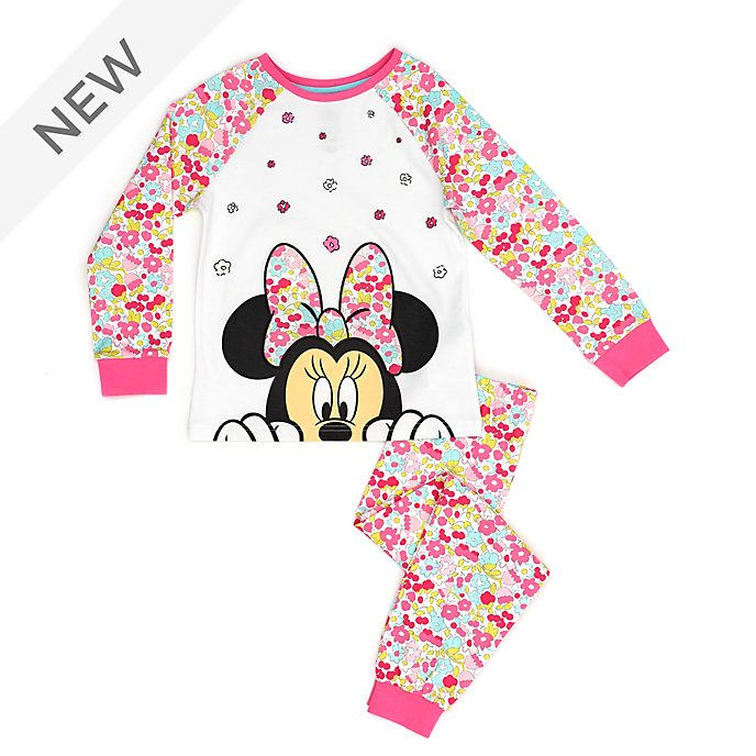 Disney Store Minnie Mouse Floral Pyjamas For Kids