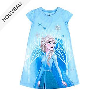Disney Store Chemise de nuit Elsa pour enfants, La Reine des Neiges2