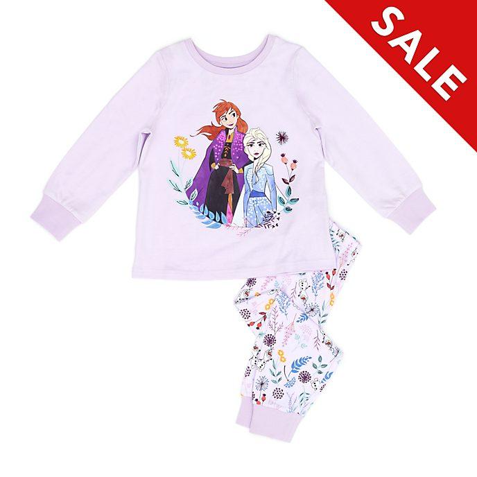 Disney Store - Die Eiskönigin 2 - Anna und Elsa - Pyjama für Kinder aus Bio-Baumwolle