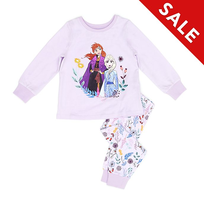 Disney Store Anna and Elsa Pyjamas For Kids, Frozen 2